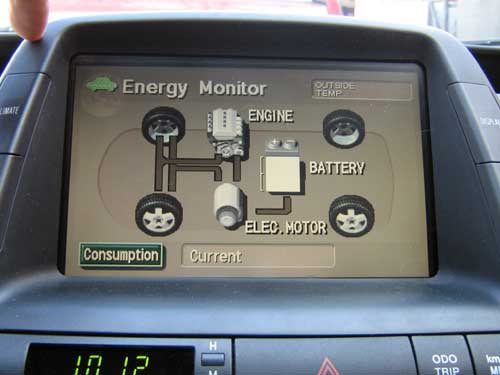 Prius 2nd Gen Repairing The Multi Function Display