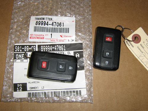 Lost Smart Car Key