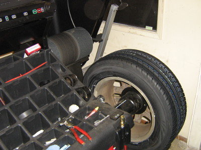 wheel balance on GSP9700