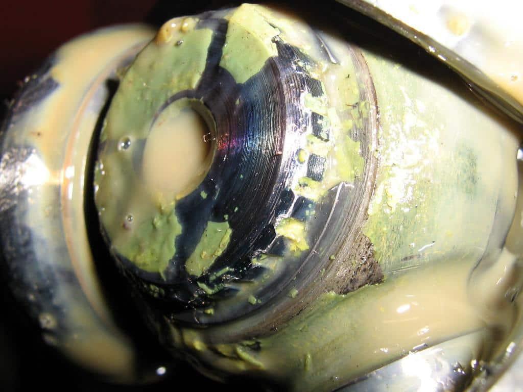 Inner CV joint circlip