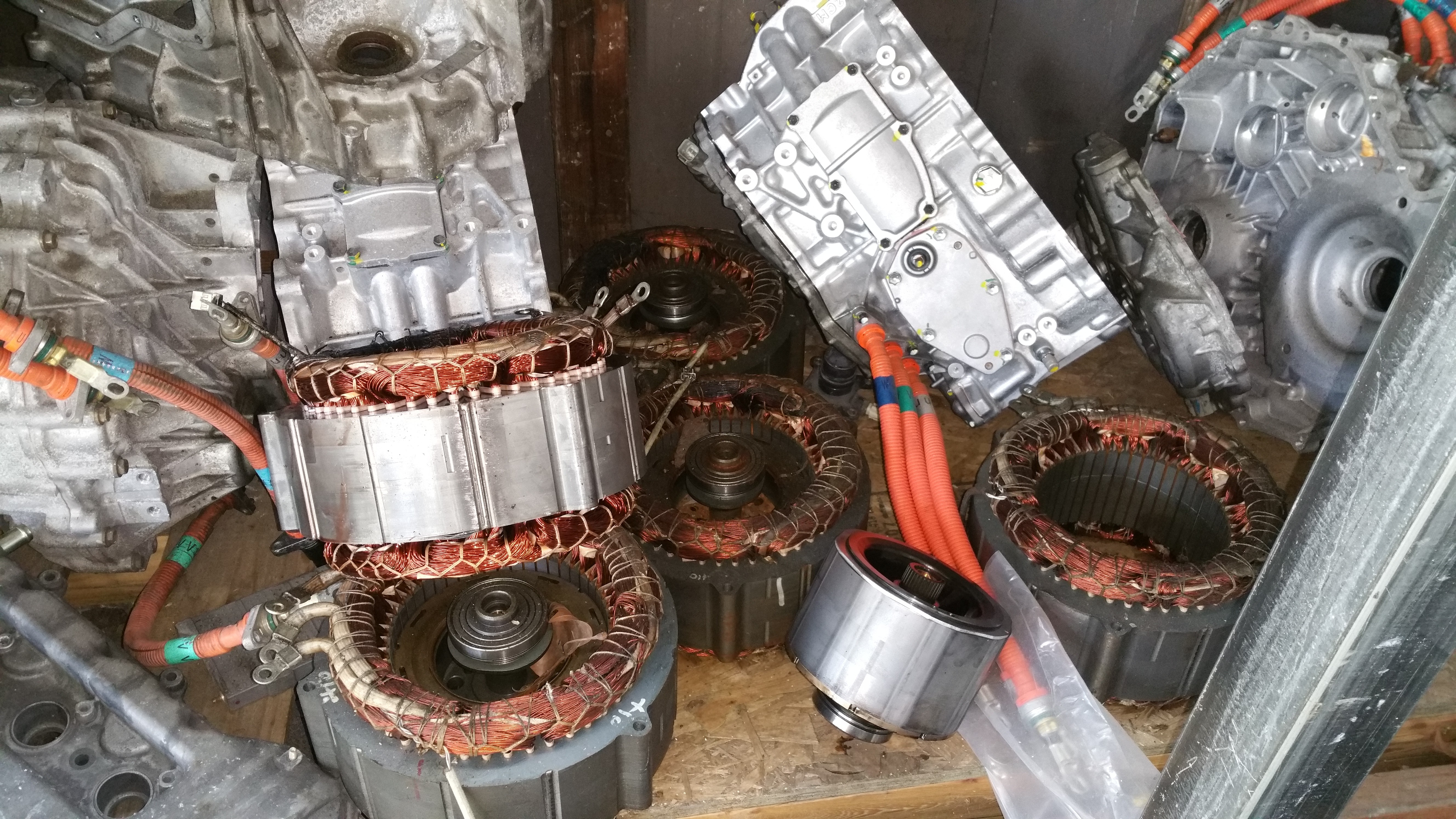 Gen 1 Prius P3125 Inf 287 303 Replacing Mg2 Stator