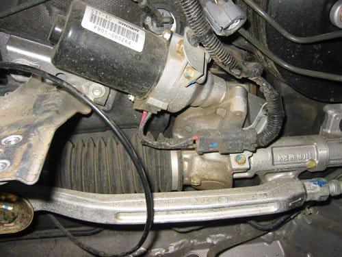 Honda electronic power steering rack motor