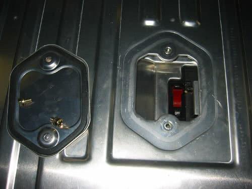 Honda hybrid interlock switch