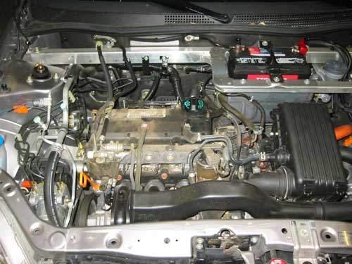 Honda Insight Engine