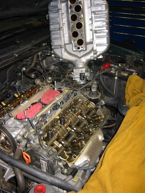 Acura valve adjustment