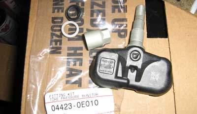 replacement TPMS sensor