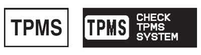 TPMS warning icon