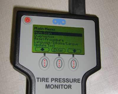 TPMS programming tool
