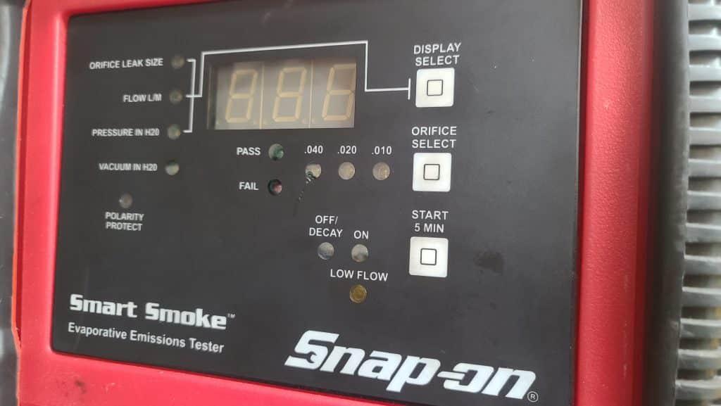 Snap-On EVAP leak tester