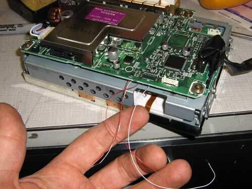 Prius multi-display circuit board repair