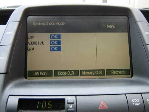 Prius display repair successful. All tests passed