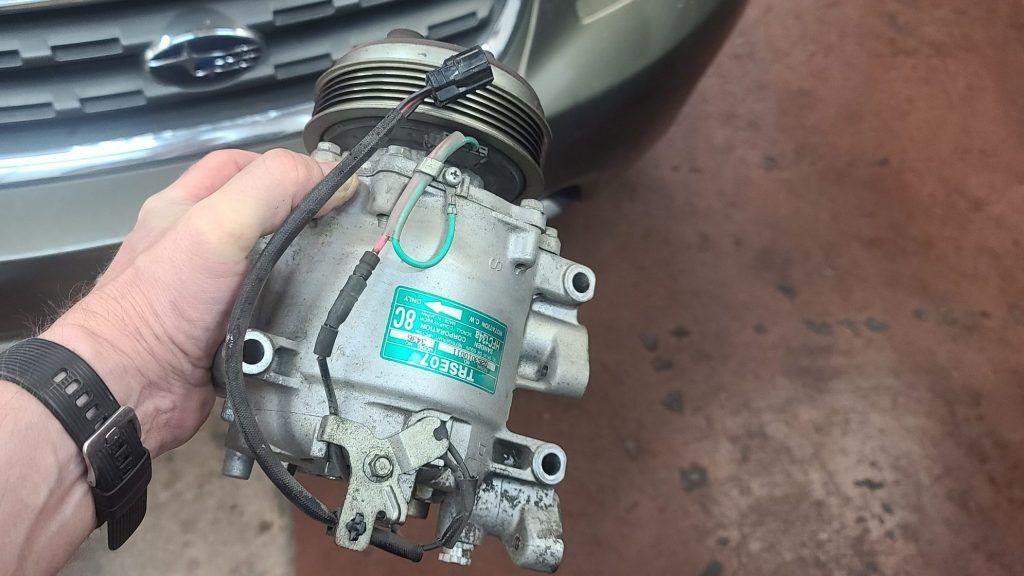 Subaru air conditioning compressor