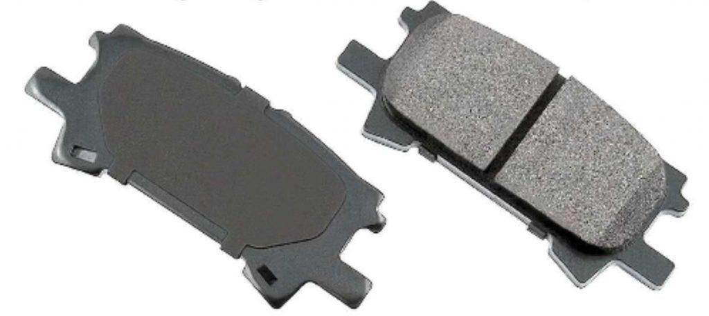 OE toyota highlander brake pads