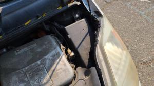 fuse box under hood on 2004-2009 prius
